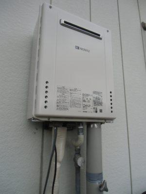 給湯器修理 新潟県長岡市・ガス給湯器故障取り替え交換工事