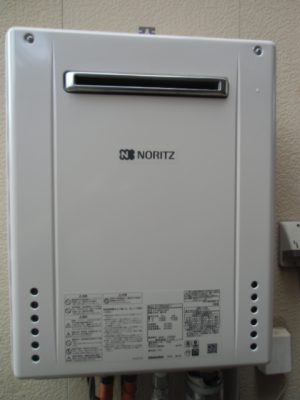 給湯器取り替え 新潟県長岡市・ガス給湯器故障取り替え交換工事