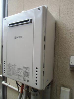 給湯器取り替え 新潟市中央区大川前通り・ガス給湯器故障交換工事