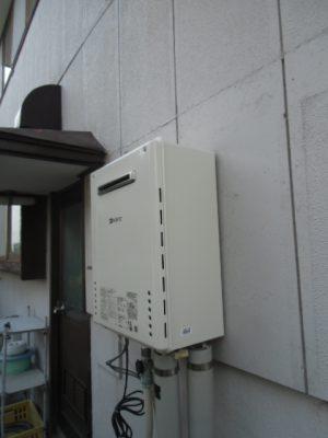 給湯器取り替え 新潟県見附市・ガス給湯器故障交換工事