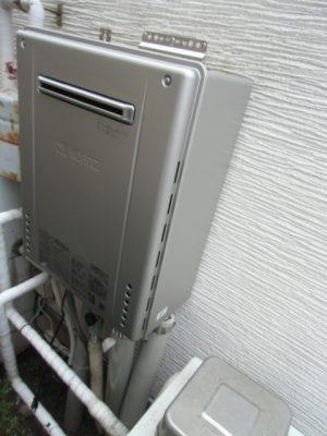 給湯器取り替え 新潟県柏崎市・ガス給湯器故障交換工事
