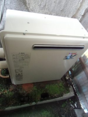 給湯器取り替え 新潟県三条市・ガス給湯器故障交換工事