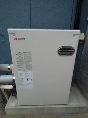 給湯器取り替え 新潟市東区・石油給湯器故障取り替え交換工事