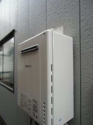 給湯器取り換え 新潟県小千谷市・ガス給湯器故障交換工事