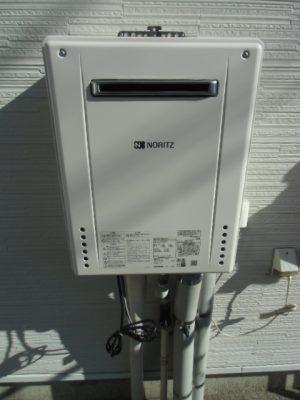 給湯器故障 新潟県胎内市・ガス給湯器故障交換工事