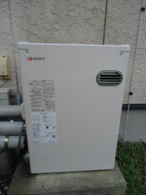 給湯器交換 新潟市秋葉区・石油給湯器故障取り替え工事