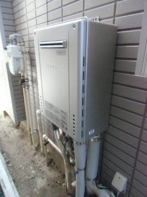 給湯器故障 新潟県長岡市・ガス給湯器故障交換工事