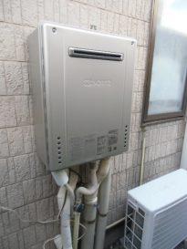 新潟市東区(新潟県)給湯器交換工事